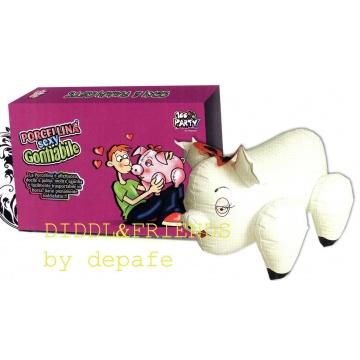 Bambola gonfiabile a forma di porcellina