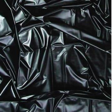 Lenzuolo matrimoniale nero in lattice 180x220