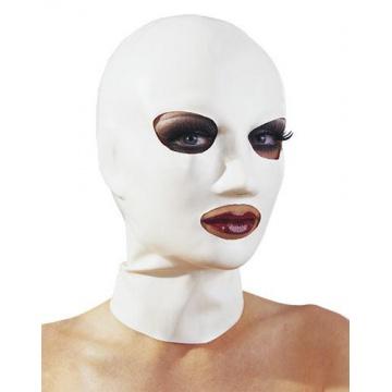 Maschera in latex bianca