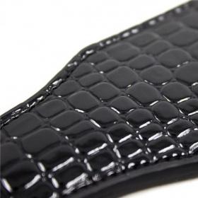 Paletta crocodile spank paddle black