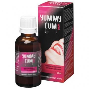 Drops Piu sperma con Yummy Cum