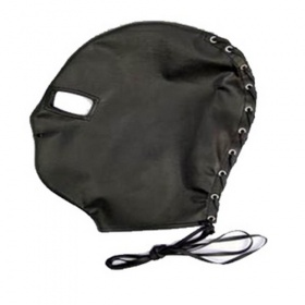 Maschera Bondage only eyes mask black