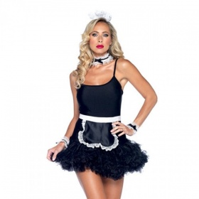 Kit cameriera sexy french maid Leg Avenue