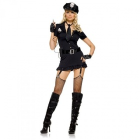 Costume poliziotta sexy dirty cop Leg Avenue