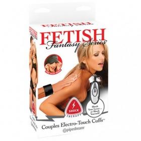 Manette Per Coppia Elettrostimolanti Fetish Fantasy Series Shock Therapy Couples Cuffs